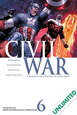 Civil War #6 (of 7)