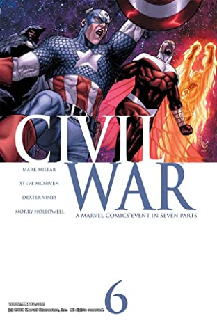 Civil War No.6 (sur 7)