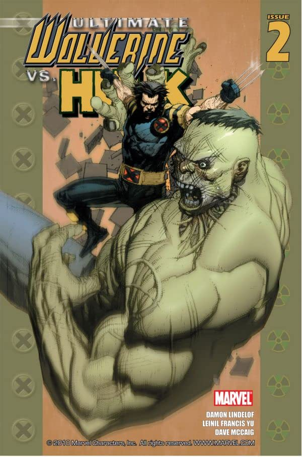 Ultimate Wolverine Vs. Hulk #2 (of 6)