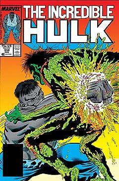 Incredible Hulk (1962-1999) #334