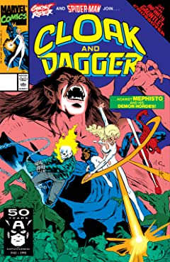 Cloak and Dagger (1988-1991) #18