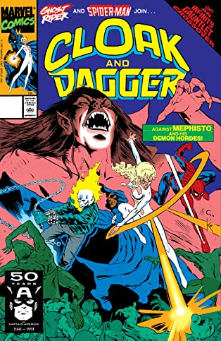 Cloak and Dagger (1988-1991) #18