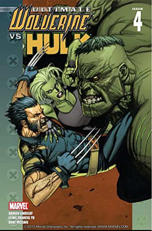 Ultimate Wolverine vs. Hulk #4 (of 6)