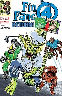 Fin Fang Four Return (2008-2009) #1