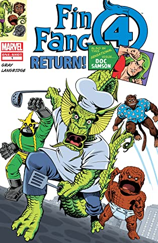 Fin Fang Four Return (2008-2009) #1
