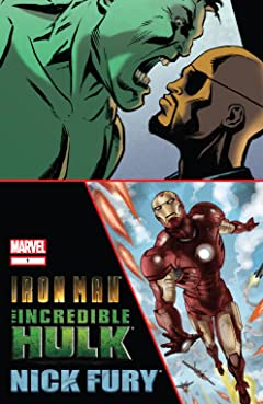 Iron Man/Hulk/Fury (2009) #1