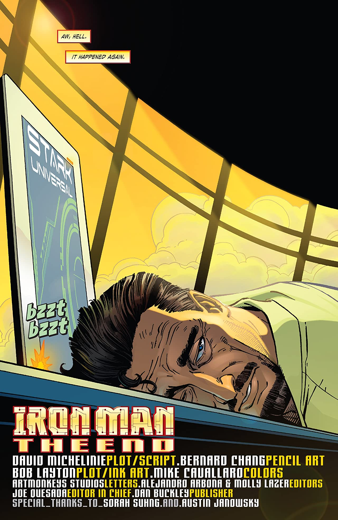 Iron Man: The End (2008) #1