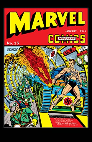 Marvel Mystery Comics (1939-1949) #15