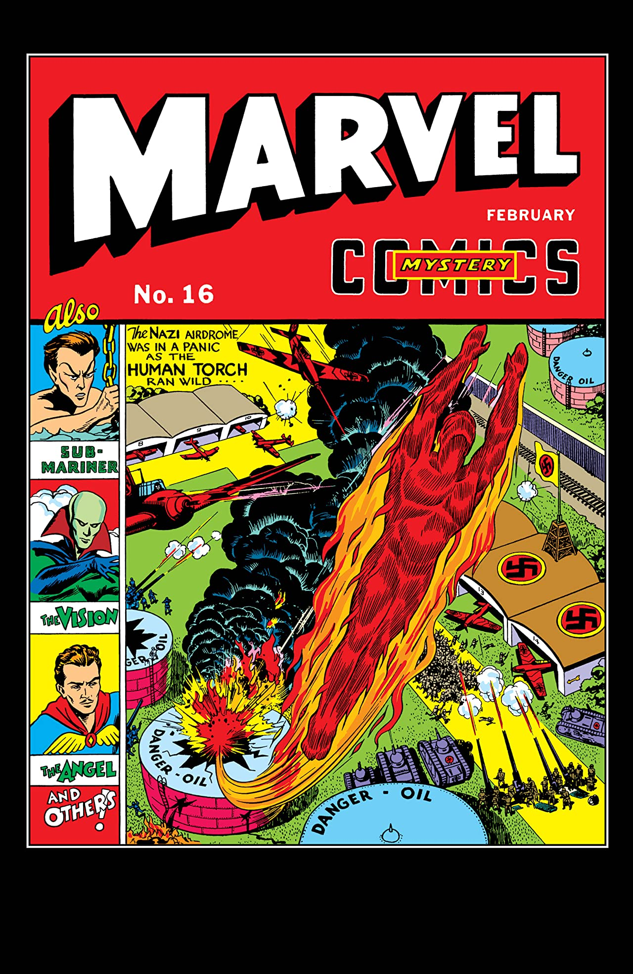 Marvel Mystery Comics (1939-1949) #16