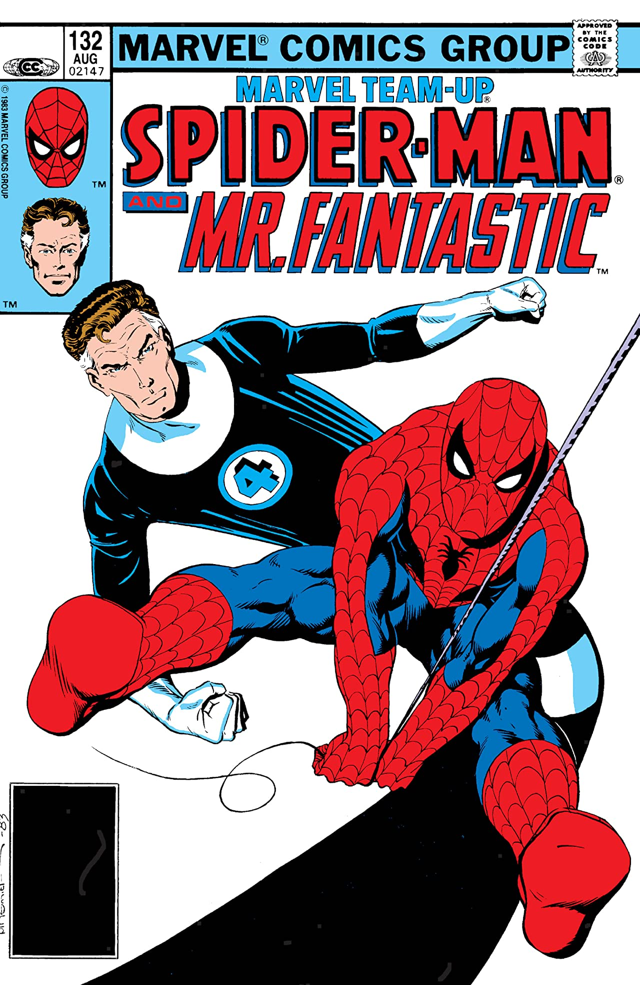Marvel Team-Up (1972-1985) #132