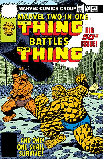 Marvel Two-In-One (1974-1983) #50