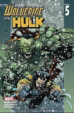 Ultimate Wolverine vs. Hulk No.5 (sur 6)