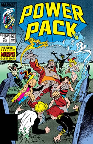 Power Pack (1984-1991) #40