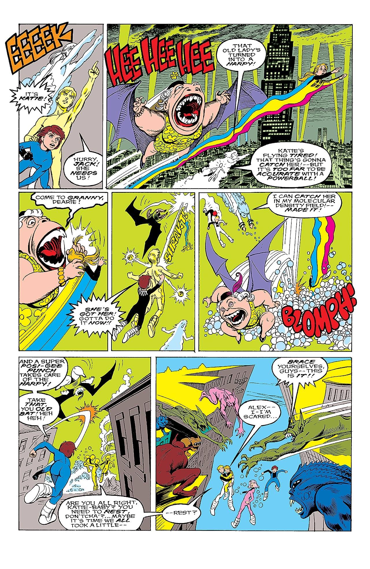Power Pack (1984-1991) #44