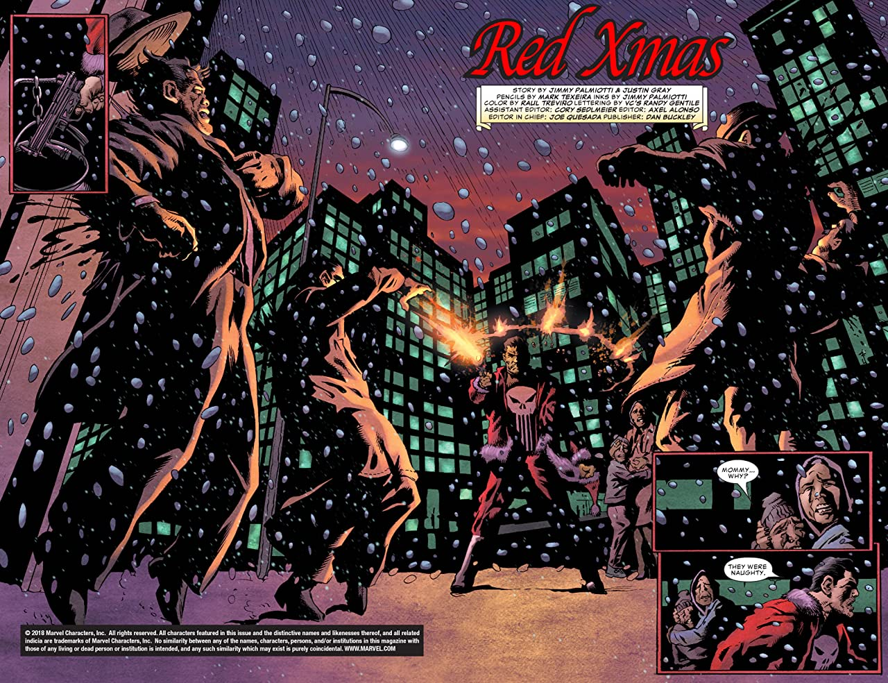 Punisher Red X-Mas (2004) #1