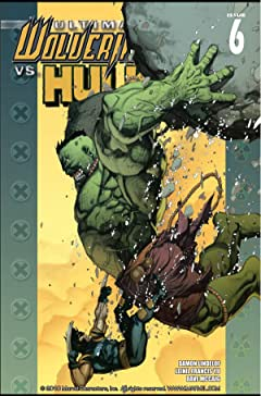 Ultimate Wolverine vs. Hulk No.6 (sur 6)