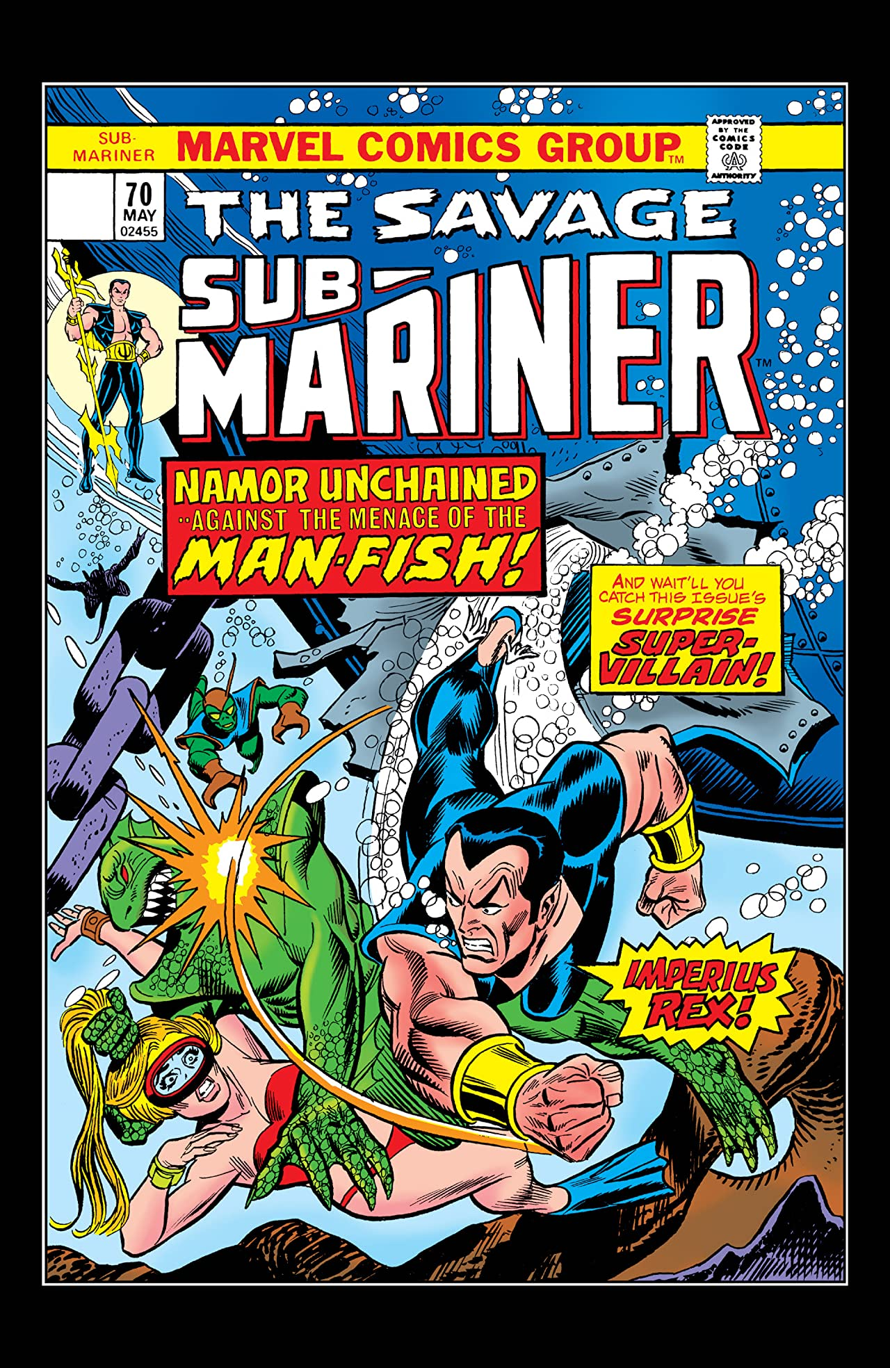 Sub-Mariner (1968-1974) #70