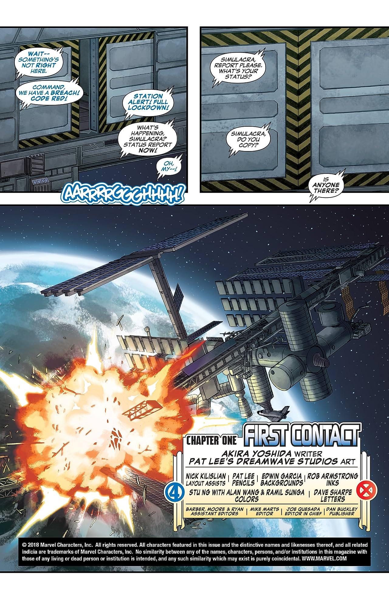 Ultimate X-Men/Ultimate Fantastic Four (2005) #1