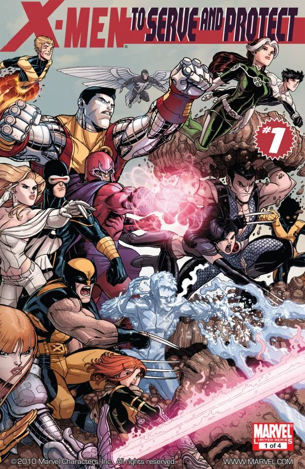 X-Men: To Serve and Protect #1 (of 4)