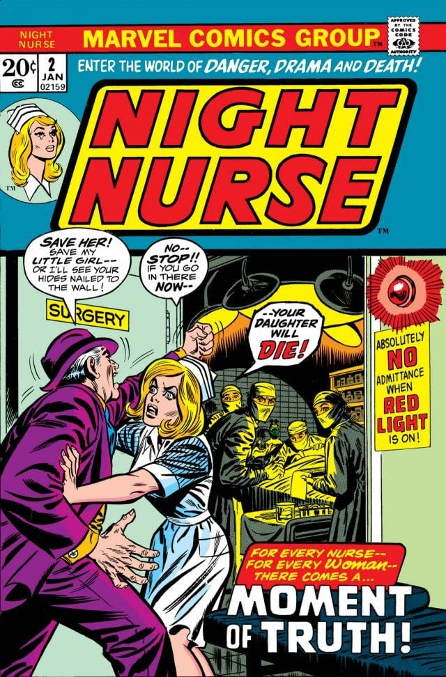 Night Nurse (1972-1973) #2