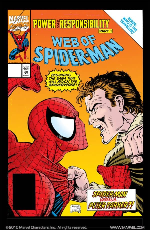 Web of Spider-Man (1985-1995) #117