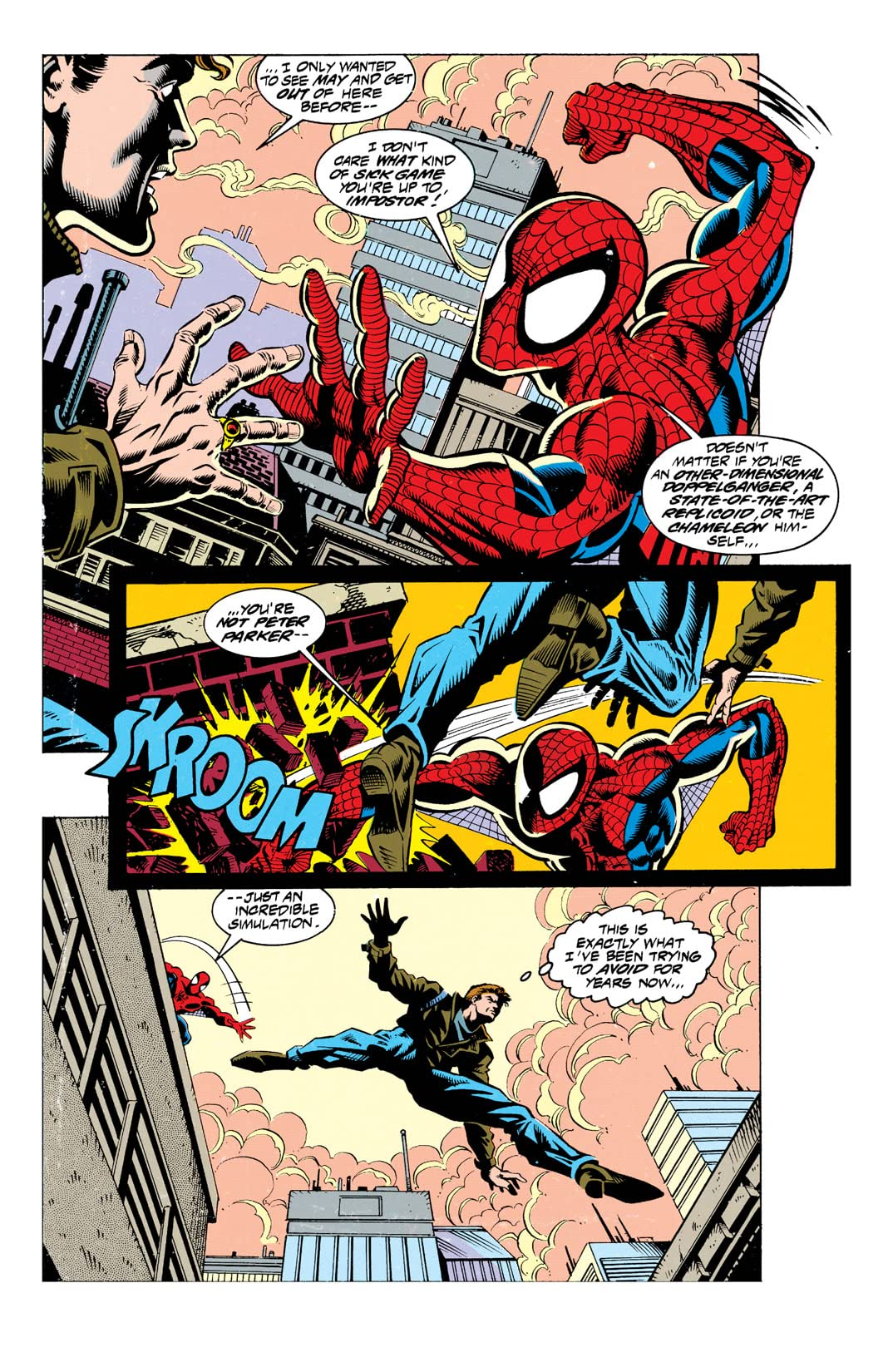 Web of Spider-Man (1985-1995) #117
