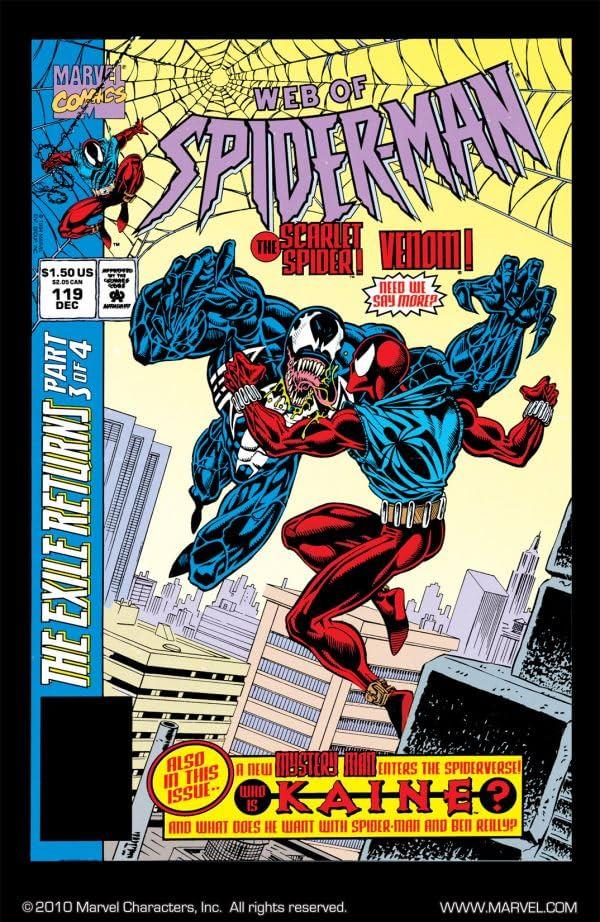 Web of Spider-Man (1985-1995) #119