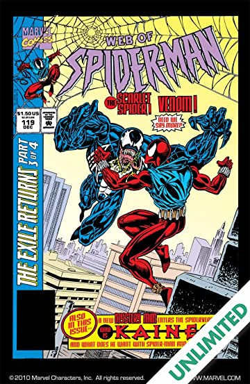 Web of Spider-Man (1985-1995) #119