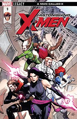 Astonishing X-Men (2017-2018) #9