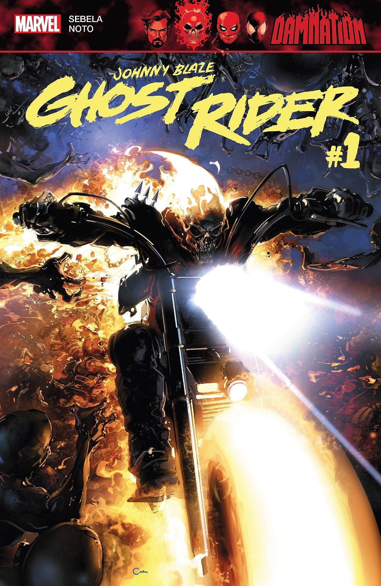Damnation: Johnny Blaze - Ghost Rider (2018) #1