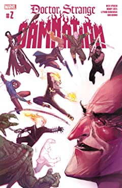 Doctor Strange: Damnation (2018) #2 (of 4)