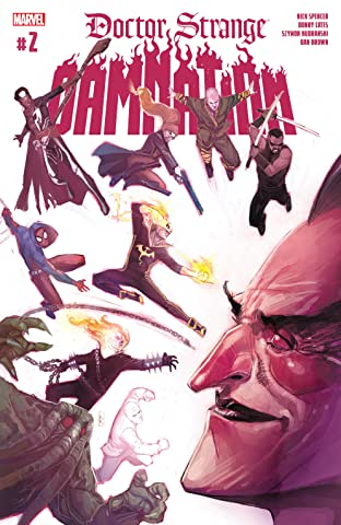 Doctor Strange: Damnation (2018) #2 (of 4)