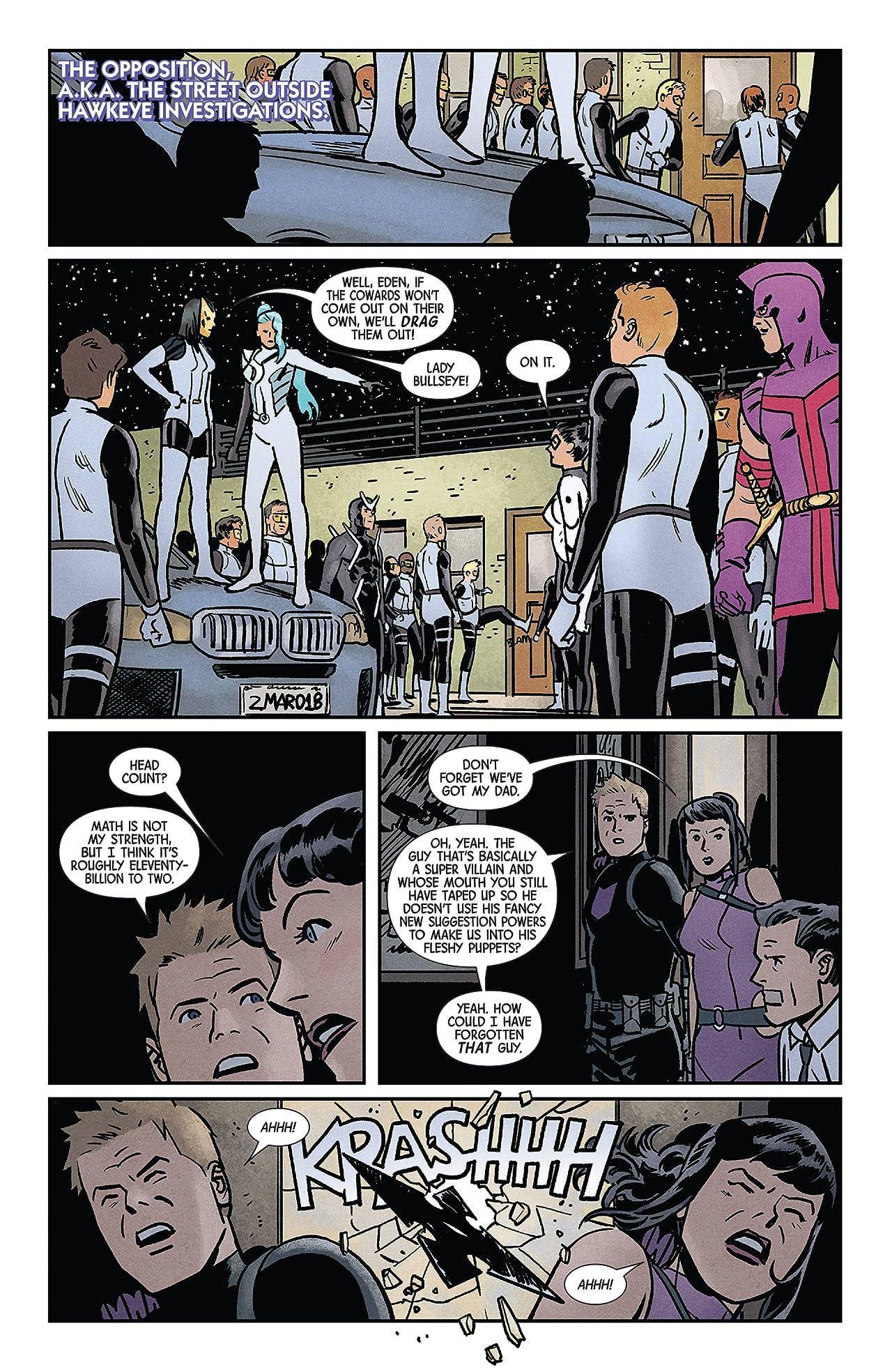 Hawkeye (2016-2018) #16