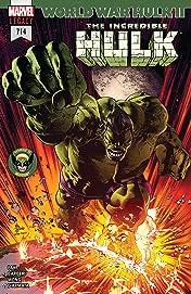 Incredible Hulk (2017-2018) #714