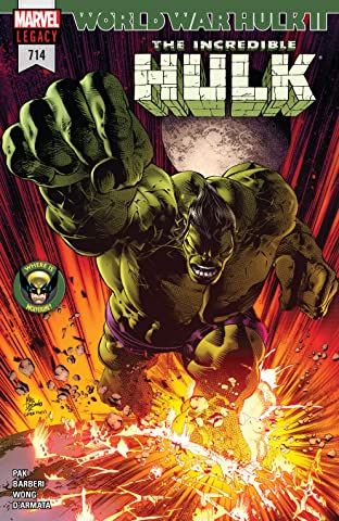 Incredible Hulk (2017-2018) #714