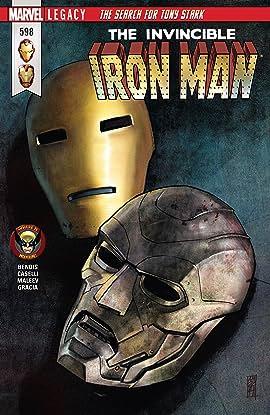 Invincible Iron Man (2016-2018) #598