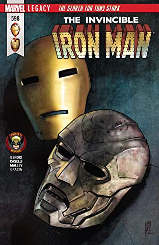 Invincible Iron Man (2016-2018) #598