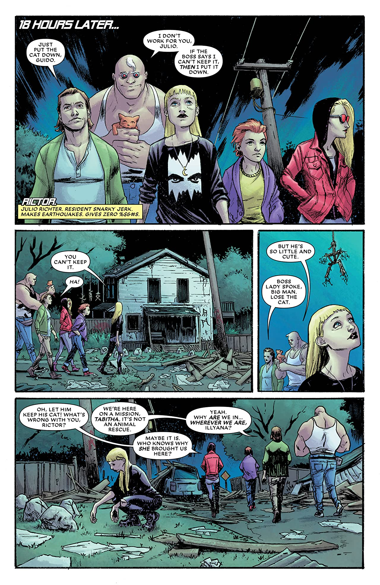 New Mutants: Dead Souls (2018) #1 (of 6)