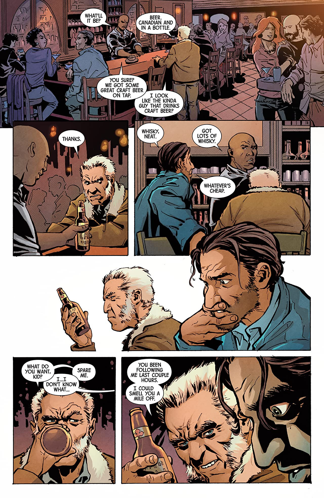 Old Man Logan (2016-) #36