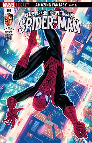 Peter Parker: The Spectacular Spider-Man (2017-) #301