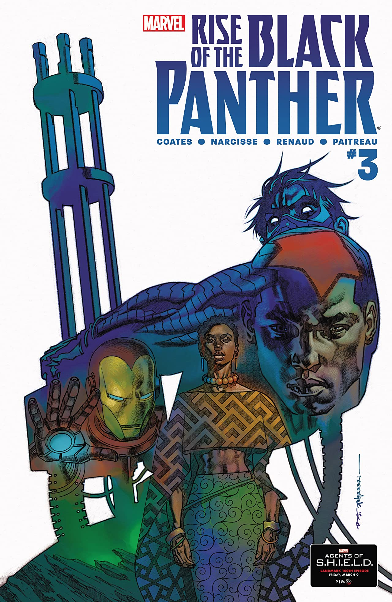 Rise of the Black Panther (2018) #3 (of 6)