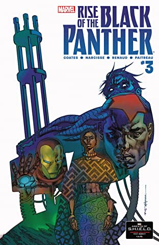 Rise of the Black Panther (2018) No.3 (sur 6)