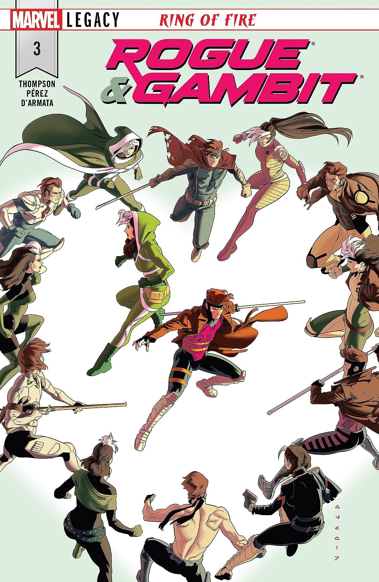 Rogue & Gambit (2018) #3 (of 5)