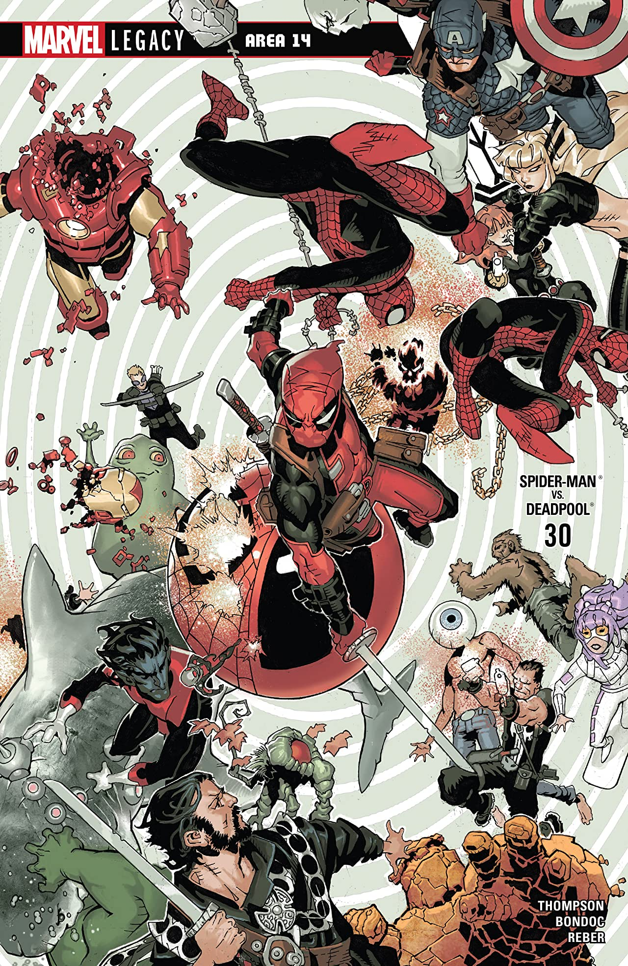 Spider-Man/Deadpool (2016-) No.30