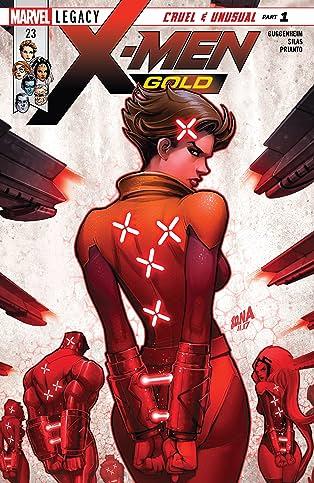 X-Men: Gold (2017-) #23