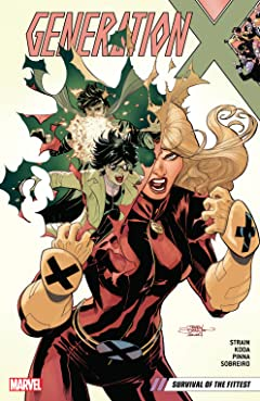 Generation X Tome 2: Survival of the Fittest