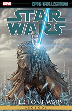 Star Wars Legends Epic Collection: The Clone Wars Vol. 2