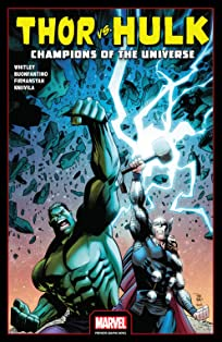 Thor vs. Hulk: Champions of the Universe