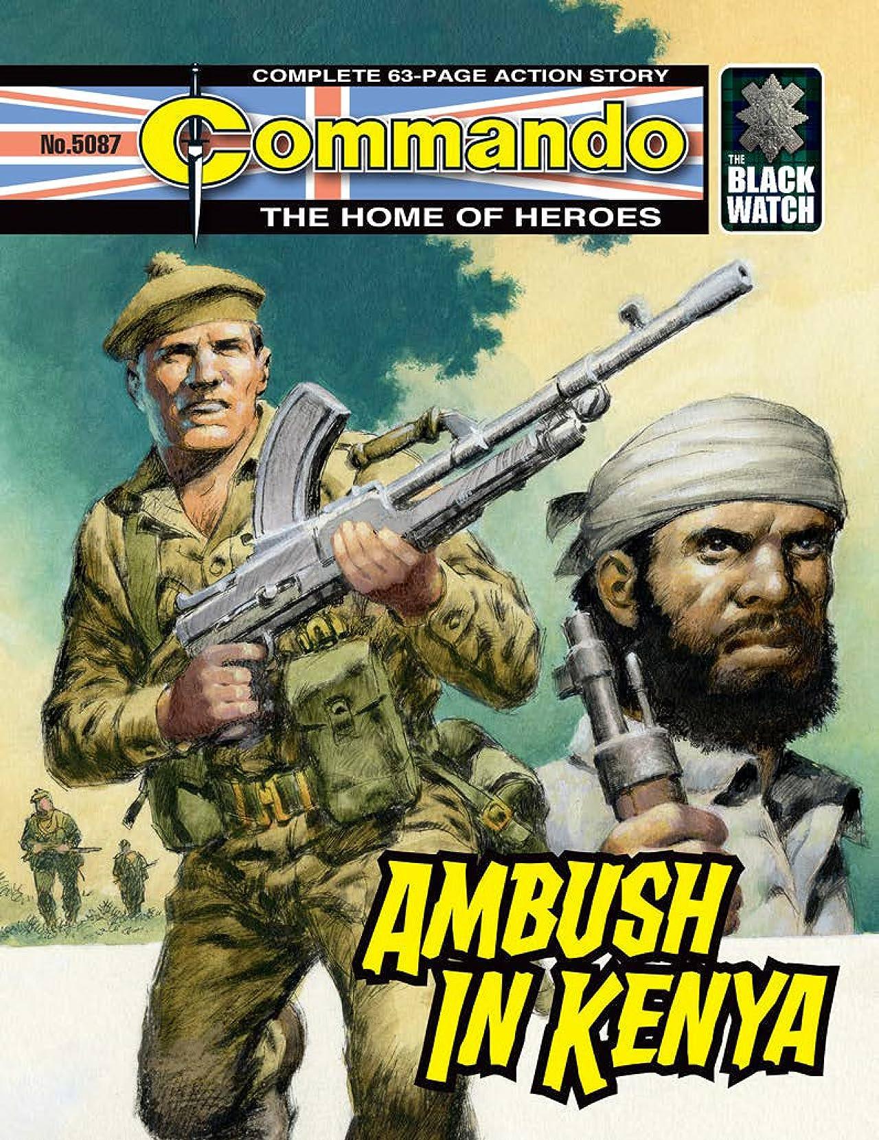 Commando #5087: Ambush In Kenya