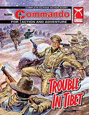 Commando No.5089: Trouble In Tibet